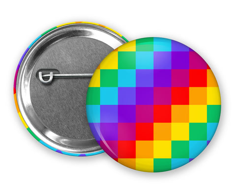 RAINBOW LGBT PRIDE Flag - Badge Pinback Button