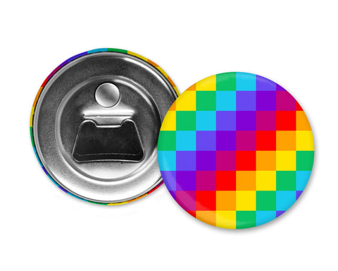 RAINBOW LGBT PRIDE Flag - Magnet with Bottle Opener