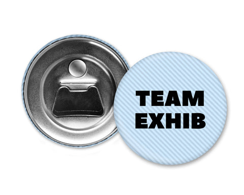 TEAM EXHIB - Magnet with Bottle Opener