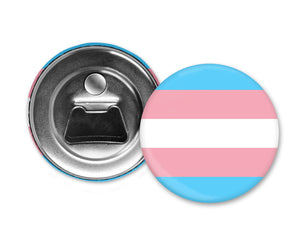 TRANS PRIDE - Magnet with Bottle Opener