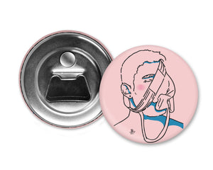 UNDERWEAR SNIFFER- Queerrilla Exclusive Special Edition - Magnet with Bottle Opener