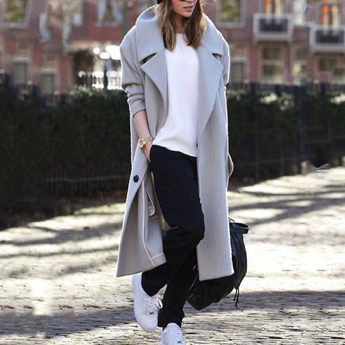 Winter Warm Loose Long Outerwear Coat