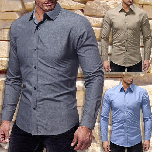Casual Button-Up Shirt
