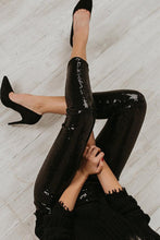 Load image into Gallery viewer, Elegant Bodycon Sequin Slim Legging Pants