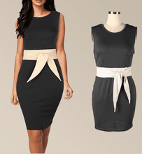 Load image into Gallery viewer, Fashion Slim Fit Belt Bodycon Dress