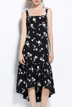 Load image into Gallery viewer, Summer Floral Printed Maxi Dress