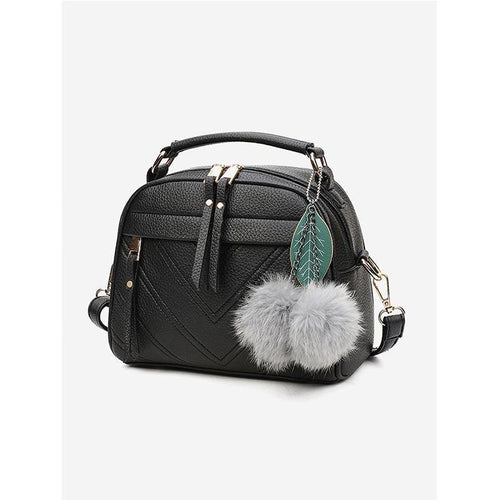 Leaf Decorative Shoulder Bag