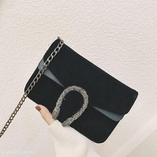 Fashion Classic Glossy Crossbody Bag