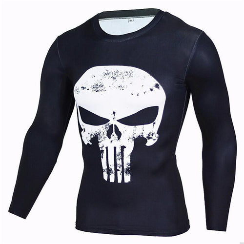 Hot Sale Fitness Anime Bodybuilding Long Sleeve