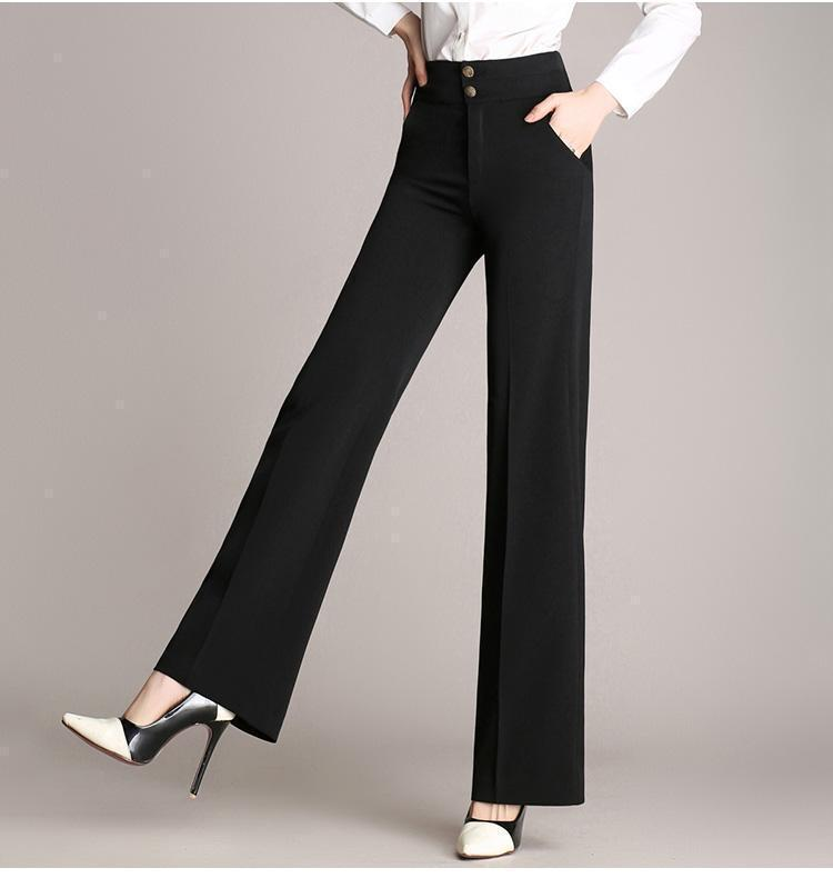 bb8e83a04e ... Load image into Gallery viewer, Loose Casual High Waist Wide Leg Pants  ...