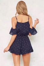 Load image into Gallery viewer, Sexy Fashion Floral Print Off Shoulder Romper