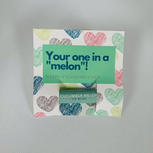 Melon Valentine with Cucumber Melon Lip Bliss