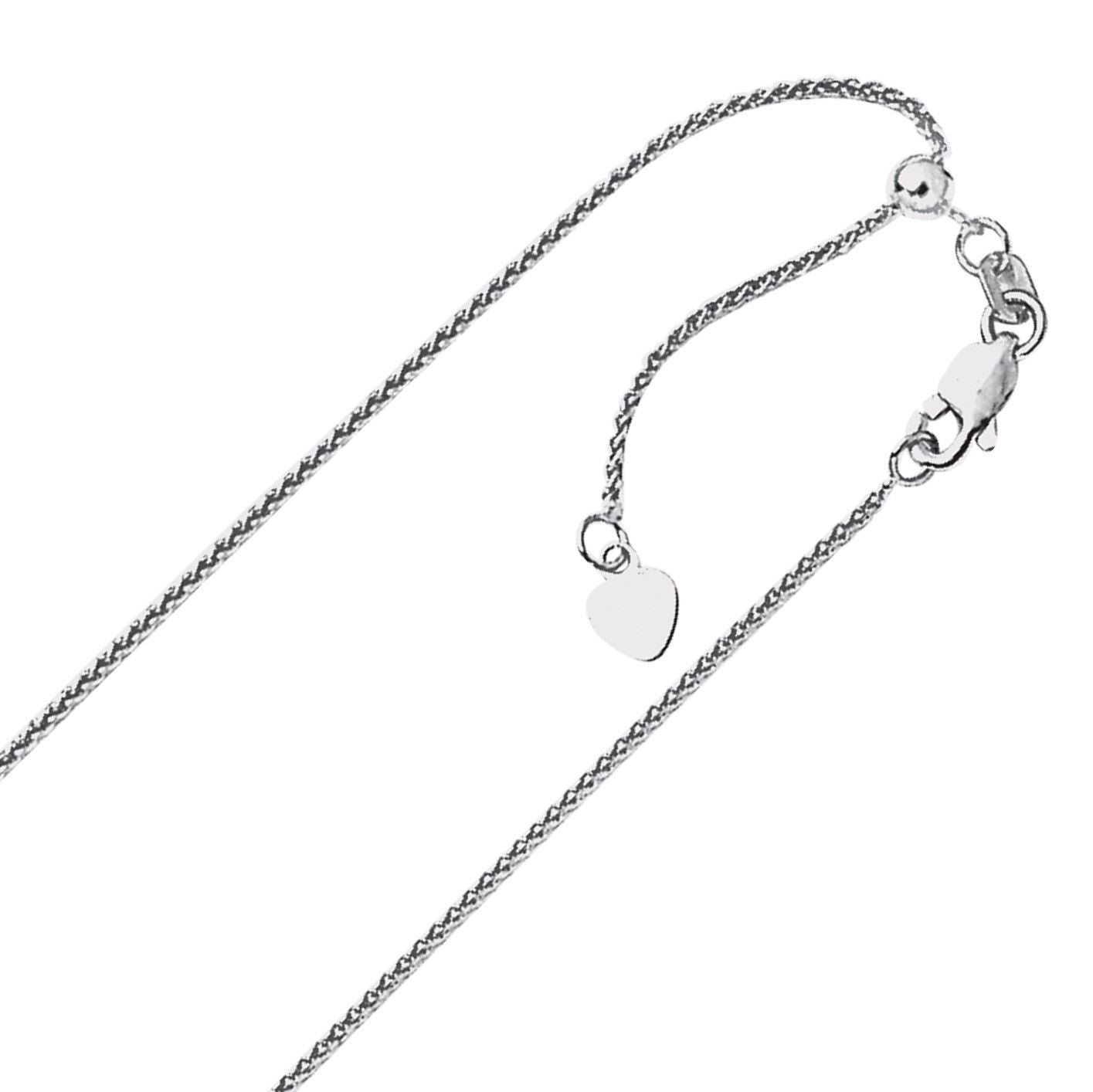 """.85mm Solid Adjustable Box Chain Necklace REAL 14K Yellow Gold Up To 30/"""" 4.3grm"""