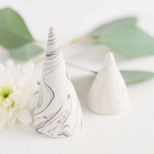 craft monkees - ring holder cone - classic marble effect