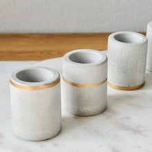 craft monkees - mini concrete planter