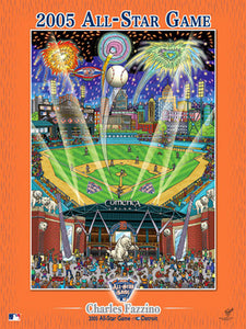 MLB All Star Game, Detroit, 2005