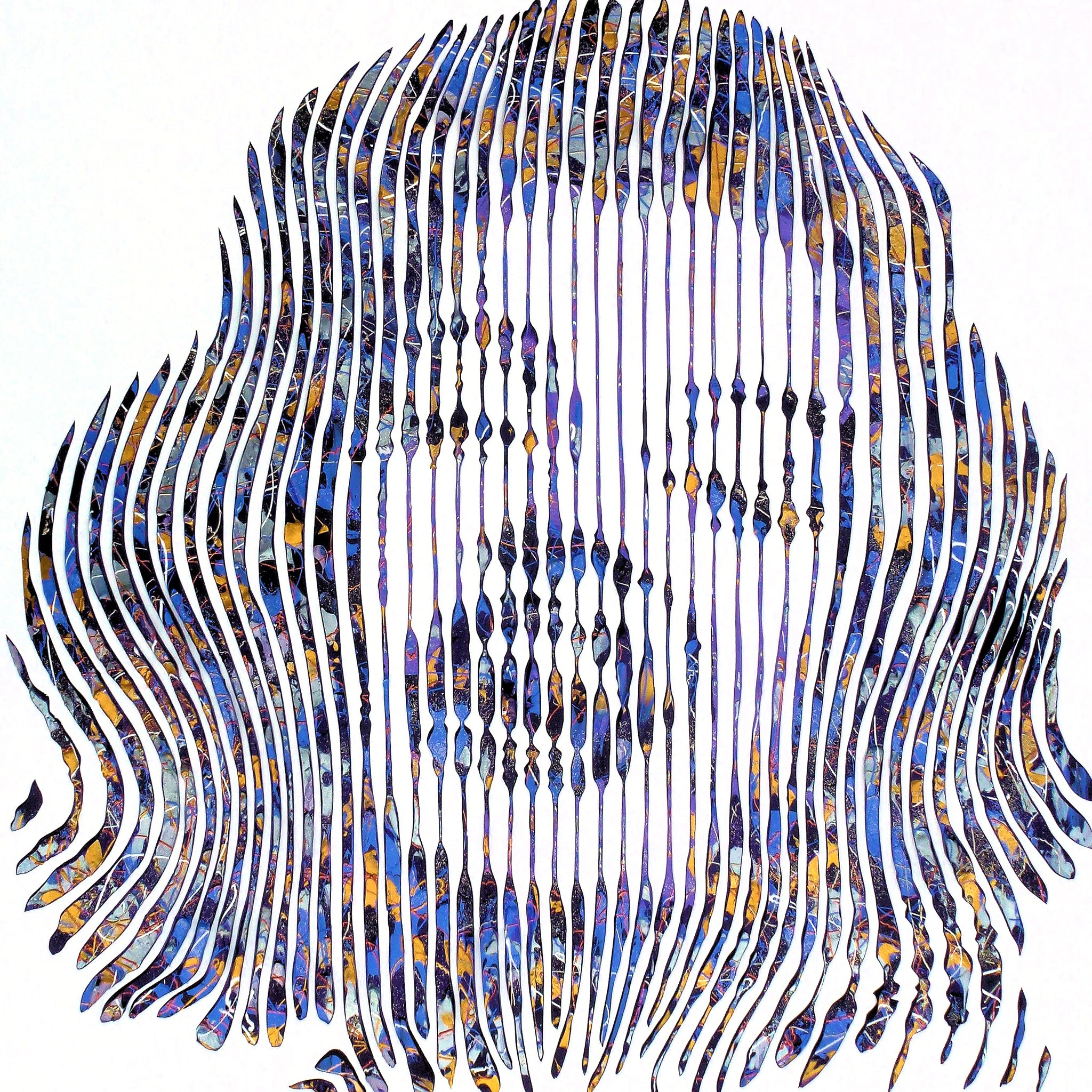 Virginie Marilyn Is Forever Mixed Media on Canvas 48x48