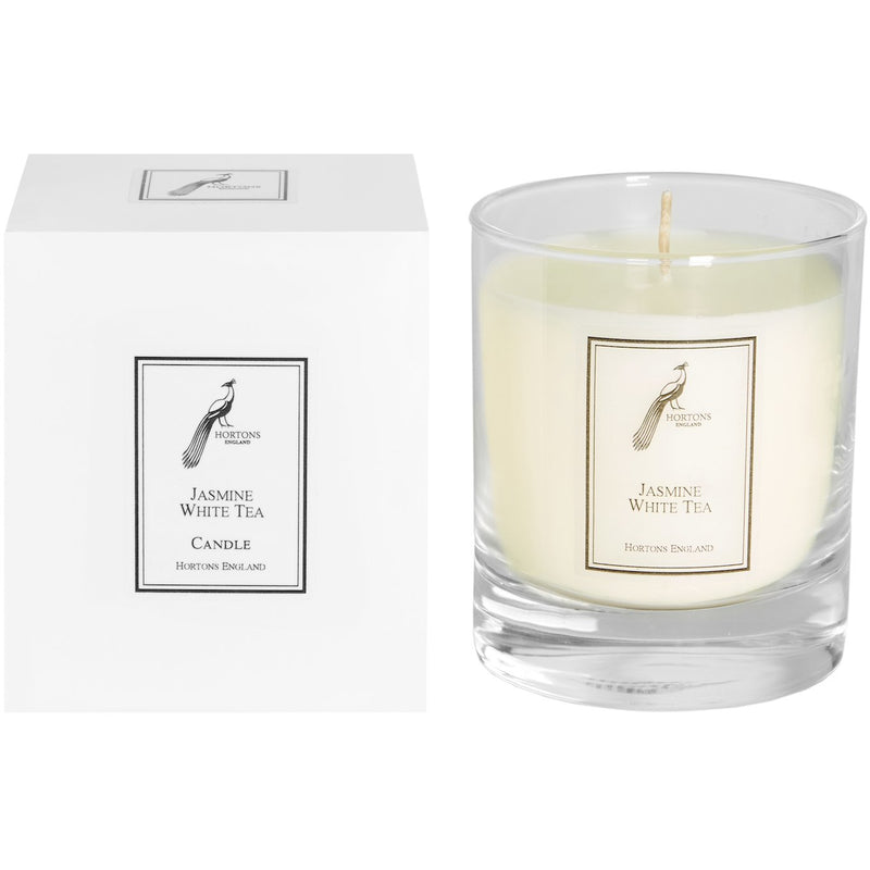 Jasmine and White Tea scented candle