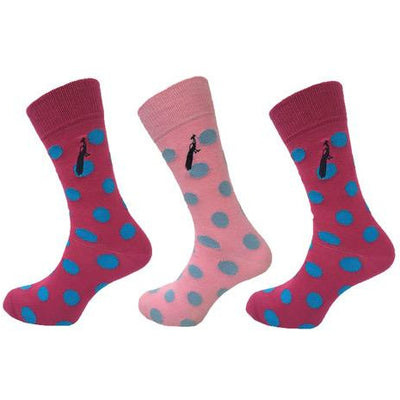 The Woodperry Spotted Sock - Set of 3