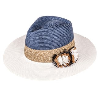 The Hepburn Straw Fedora