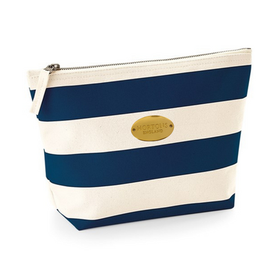 Nautical Striped Wash Bag