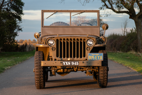 Jeep Willys - Jesse's Amerikana;