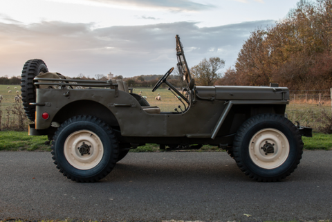 Jeep Willys World War 2 - Jesse's Amerikana