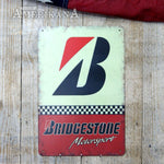 Plaque Métal 30X20 Bridgestone Motorsport