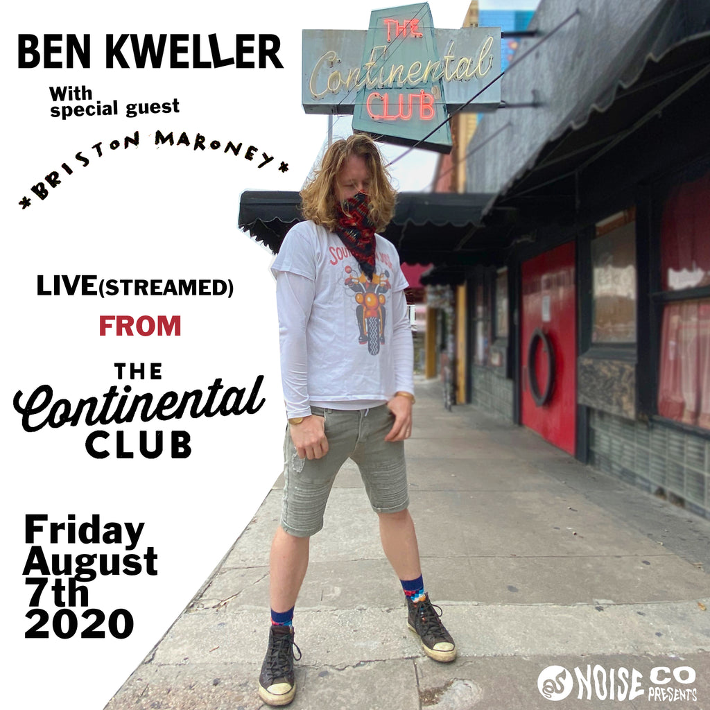 Archive - Ben Kweller - The Continental Club - August 7th, 2020