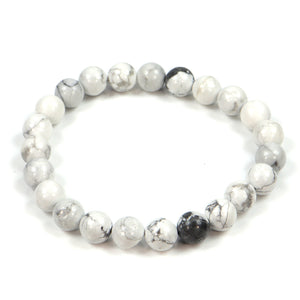 Gemstone Bracelet in Howlite