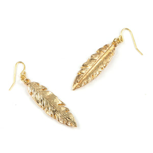 Lily Leaf Earrings