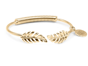 Gold Laurel Leaf Bracelet
