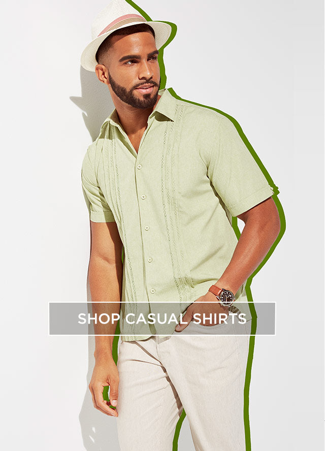 Cubavera Mens Casual Shirt Styles - Shop Now