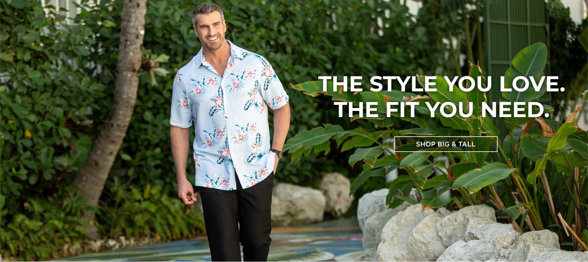 Cubavera's Big & Tall Styles- Shop Now