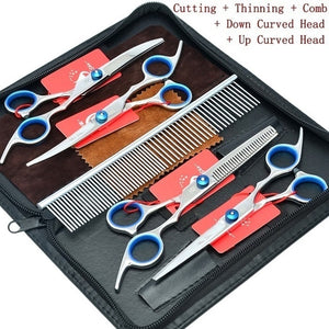 "Meisha 6.0"" Professional Pet Grooming Scissors Set"
