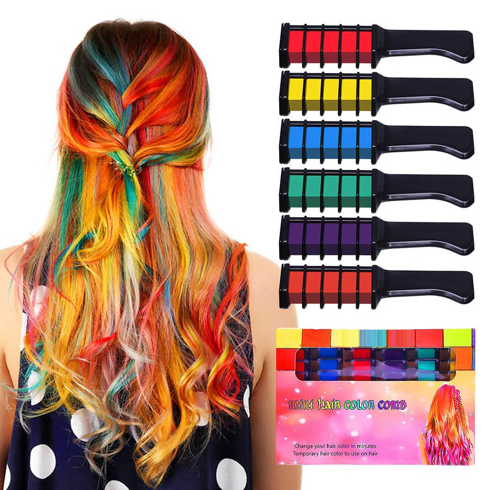 Hair Color Combs Kit 6 PCS