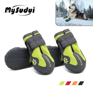 Truelove Waterproof Dog Shoes For Dogs (Winter/Summer/Rain/Snow)