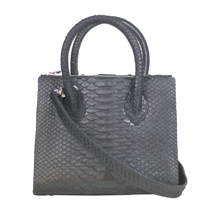 Catherine Mini Tote in Python