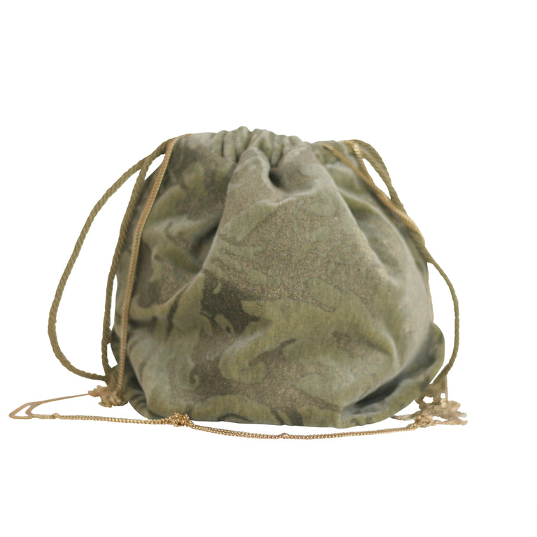 Fortuny Drawstring in Sage