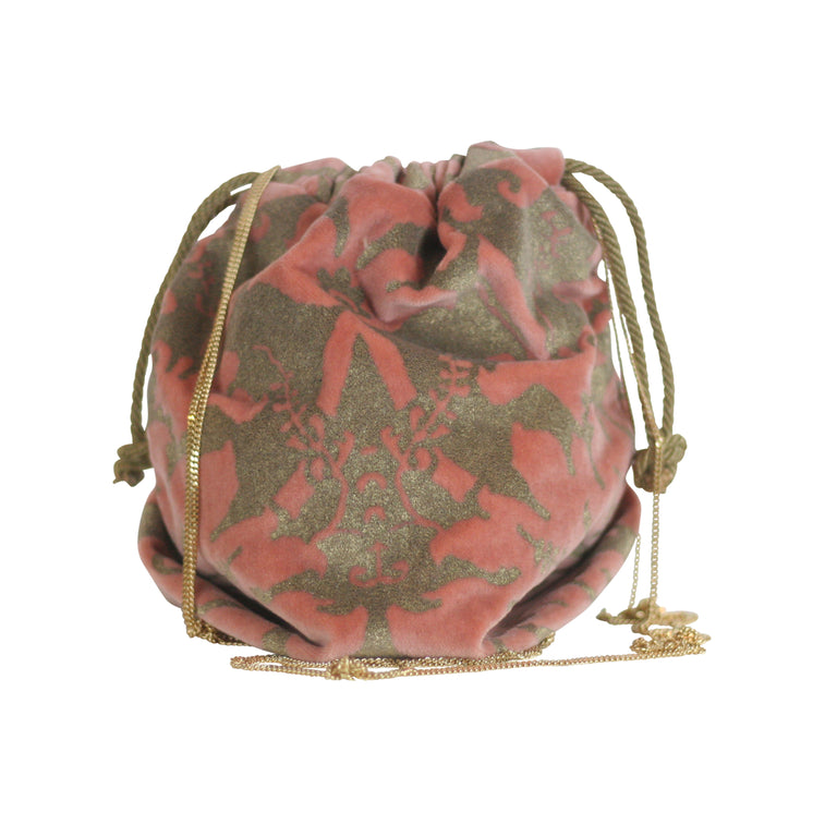 Fortuny Drawstring in Rose