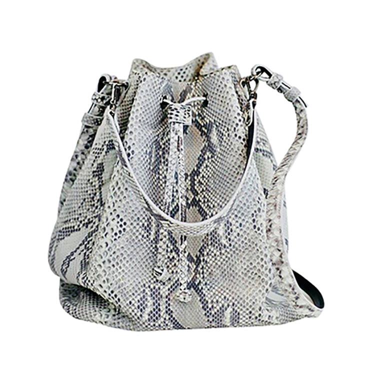 Bridges Bucket Bag in Snakeskin