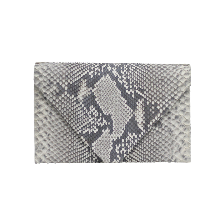 Olivia Clutch in Snakeskin