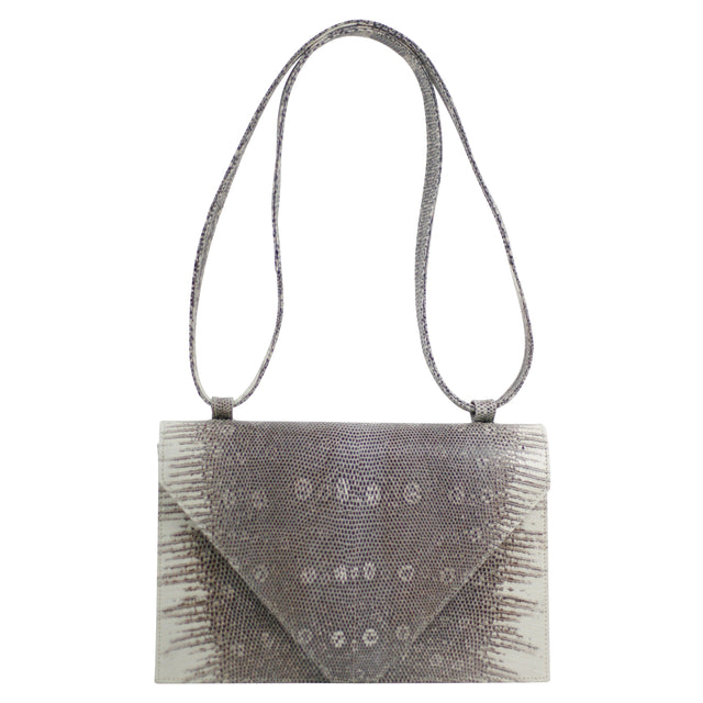 Olivia Shoulder Bag in Lizard