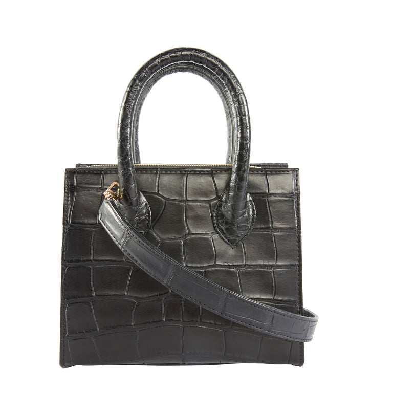 Catherine Mini Tote in American Alligator