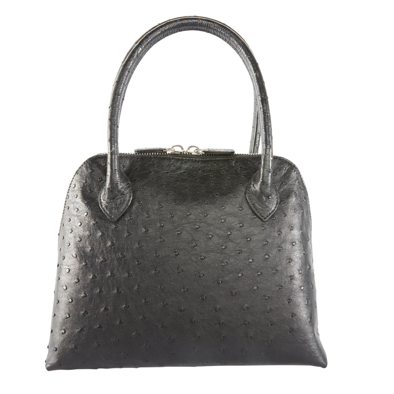 Joanna Top Handle Bag in Ostrich