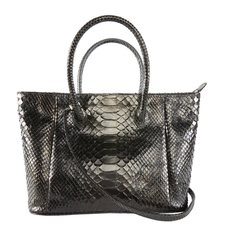 Pate Tote Bag in Snakeskin