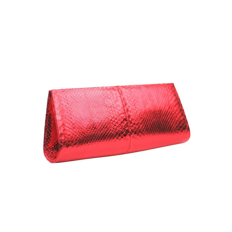 Annie Clutch in Snakeskin