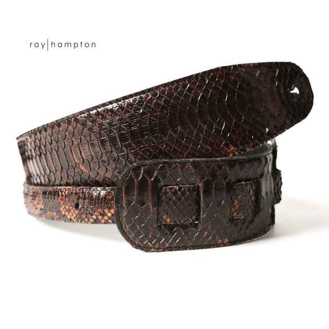 Guitar Strap in Snakeskin