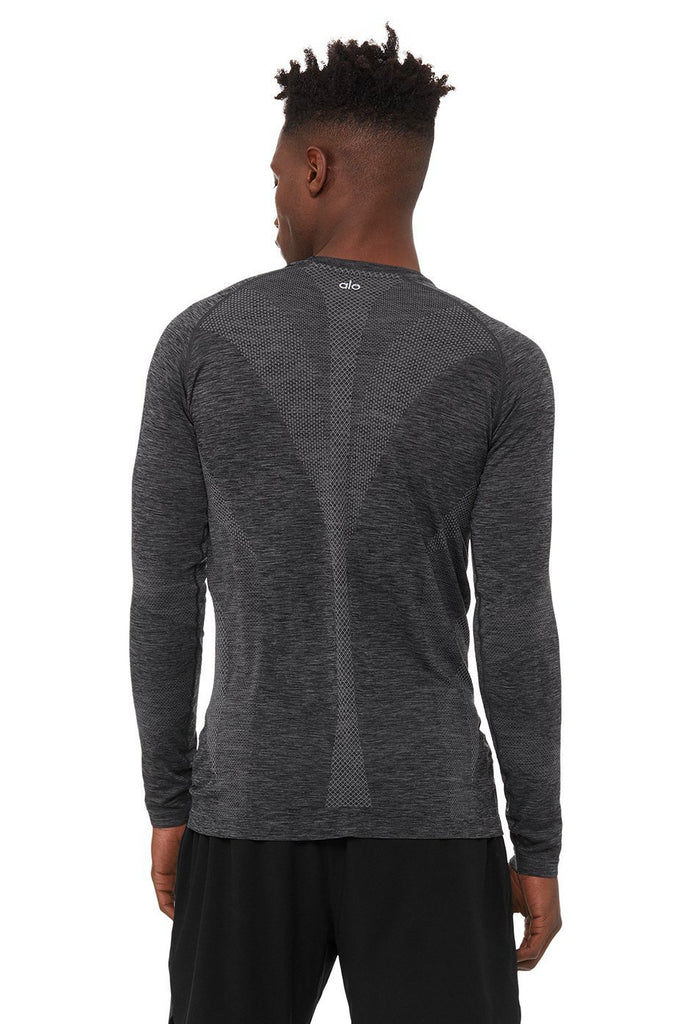 Amplify Seamless Long Sleeve, shirt, Alo, [Best Selling High Quality Women's Activewear] - SWEAT Active Fashion
