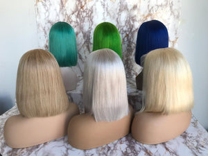 Colored Full Lace Wig